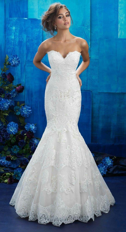 96 besten Hochzeitskleider Bilder auf Pinterest | Abendkleid ...