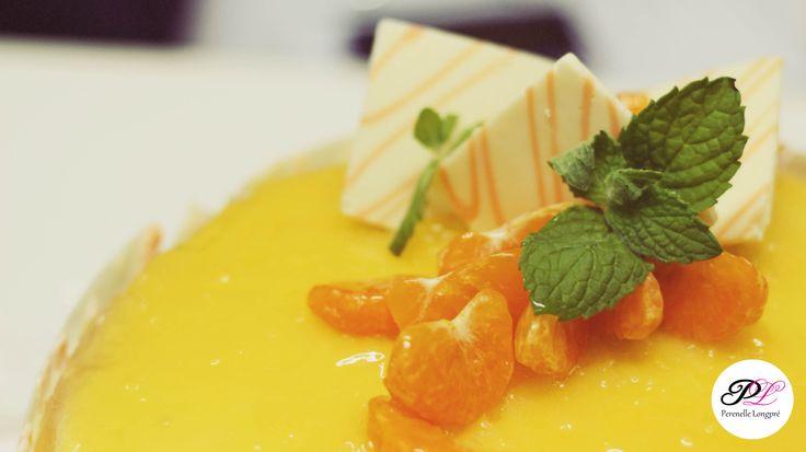 Detalle mandarinas y menta, Torta Panqueque Naranja