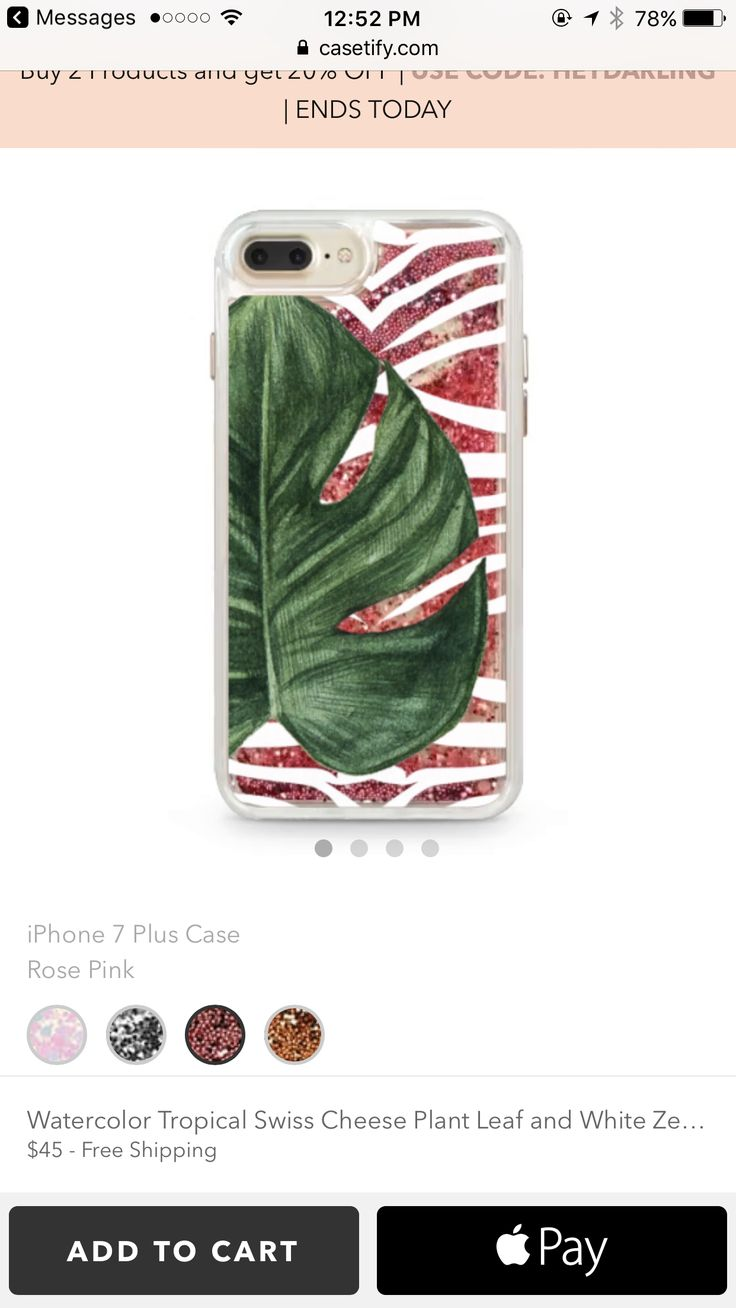 https://www.casetify.com/product/watercolor-tropical-swiss-cheese-plant-leaf-and-white-zebra-stripes/iphone7-plus/glitter-case-rose-pink?color=rose-gold#/378702