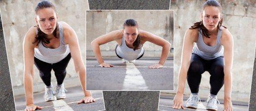 Mit einer Übung den ganzen Körper trainieren - das geht! Allerdings nur, wenn ihr keine Angst vor Schweiß habt ... Denn der wird bei der Burpee-Challenge unter Garantie fließen...