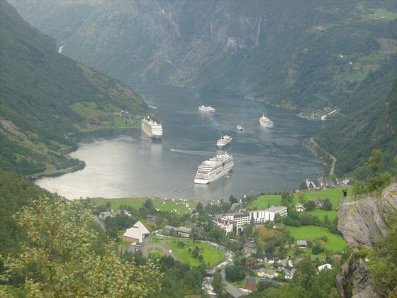 #timandounacartolina. I Fiordi norvegesi - di Elisa Barth