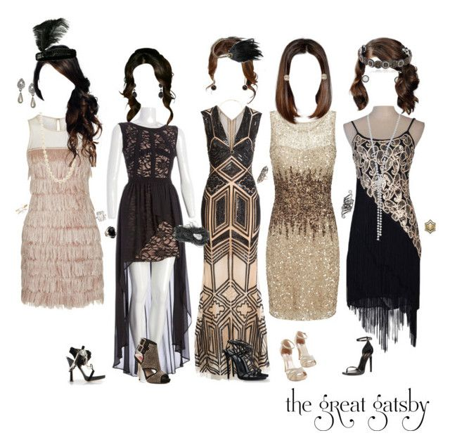 """""The Great Gatsby"" Party Dresses"" by liv4marvel94 ❤ liked on Polyvore"