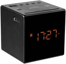 Nuevo Sony ICF-C1T (C) FM/AM Radio Reloj Alarma Dual-Negro