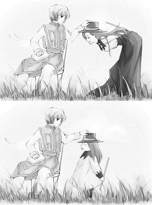 Kurapika and Melody - Hunter x Hunter