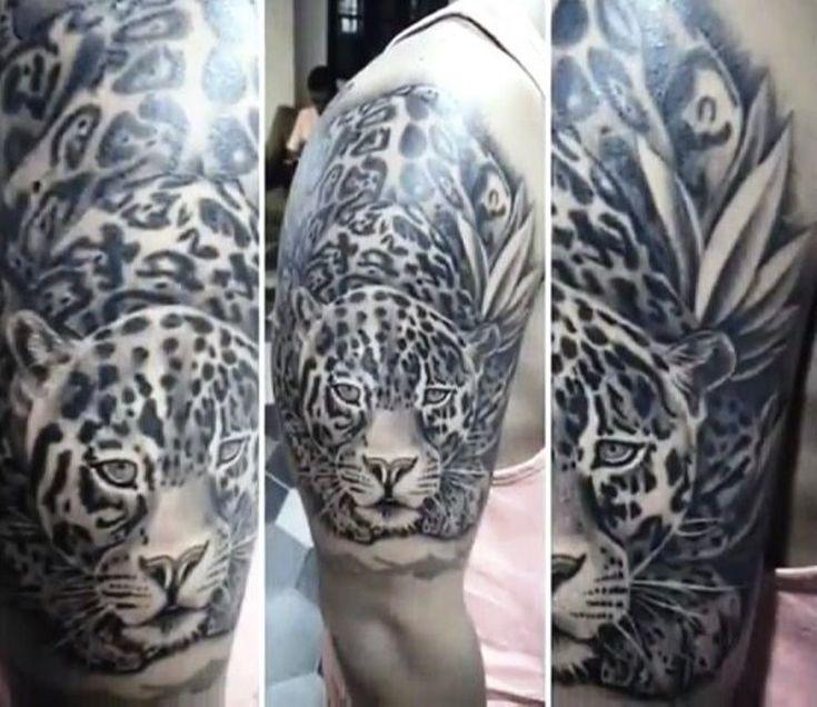 8 best jaguar tattoos images on pinterest jaguar tattoo for Jaguar warrior tattoo