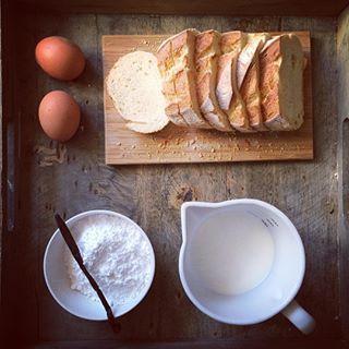 Preparo #frenchtoast / Making French toast ❤🍞🥛🥚🍽 #Comfortfoodie #sundaymood #breakfast