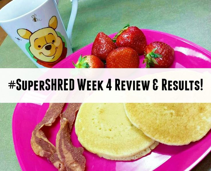 My Final Week on the Super Shred Diet (Week 4): The Homestretch, Week 4 Review, and my Results |  My Pretty Brown Blog #SuperShred #ShredderNation #weightloss