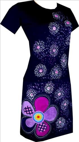 #artplanet #handmade #original #fashion #móda #dress #šaty #handpainted #ručněmalované