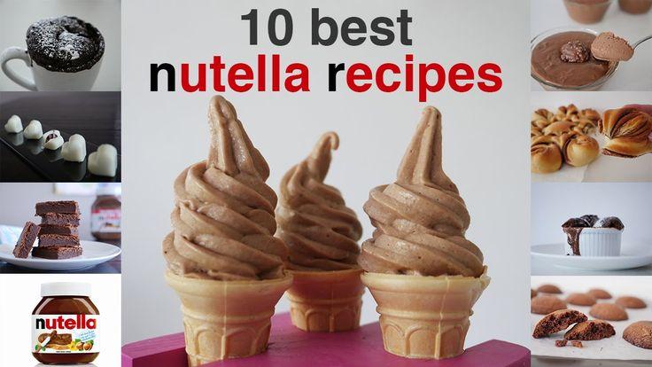 Top ten best nutella recipes in under 10 minutes: https://www.howtocookthat.net/public_html/top-10-best-nutella-recipes/ How To Cook That Channel: http://you...
