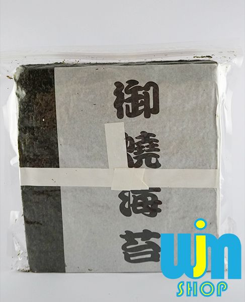Merk: Takaokaya Isi: 50 lembar Berat Bersih: - Berat Kiriman: 200gram  1kg via JNE bisa muat 5-6 bungkus nori  Minat: SMS/WA: 08996752411 PIN BB: 57EE3E90 WEB: http://wjmshop.com/nori-takaokaya/