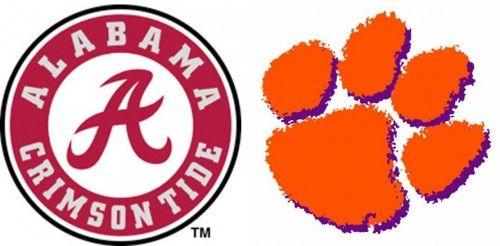 Alabama Takes on Clemson in CFP Championship Monday, Jan 11 ...