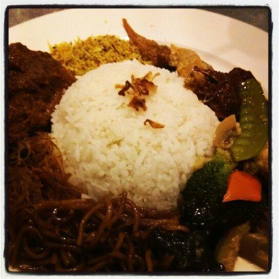 Nasi Ambeng. Javanese.