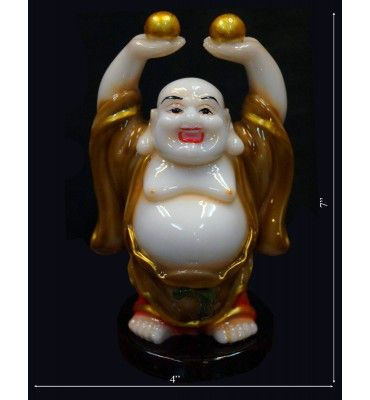 Laughing Budhha With Laddus @ Rs 600  Free Home Delivery Available across India. http://www.krafthub.com/fengshui-products/buddha-statues/laughing-budhha-with-laddus.html