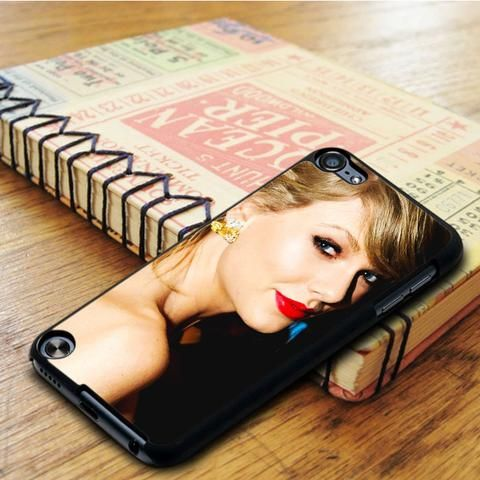 Taylor Swift Red Lips Singer Red iPod 6 Touch Case
