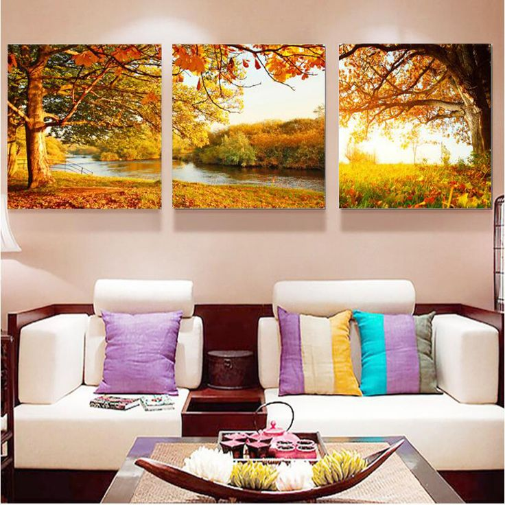 living room art prints%0A   Panel Modern Flower Picture Wall Modular Pictures For Living Room Oil Paintings  Art Hd Print