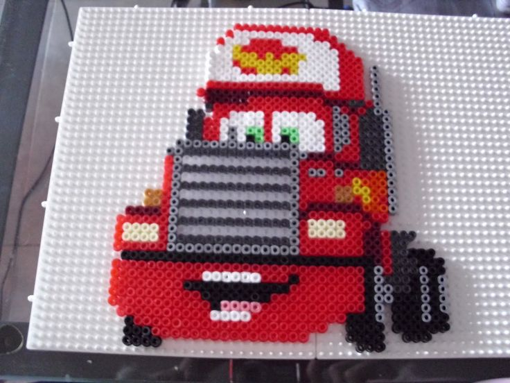 Cars Mack hama beads by Memekan