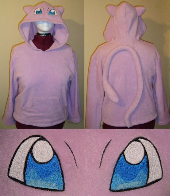 deviantART: More Like Glaceon Pokemon hoodie cosplay by ...