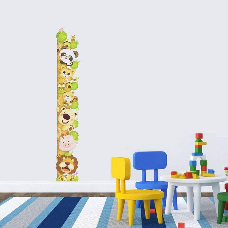 Animal height chart! Ett unikt väggdekor som mäter barnens längd på ett roligt och kreativt sätt! Passa på och fynda denna längdmätare med dess roliga motiv.  Länk till produkt: http://www.feelhome.se/produkt/animal-height-chart/    #Homedecoration #art #interior #design #Walldecor #väggdekor #interiordesign #Vardagsrum #Kontor #Modernt #vägg #inredning #inredningstips #heminredning #safari #djur #natur #barn #barnrum #barninredning