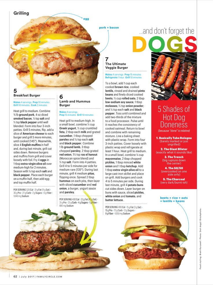 """Burger Kings"" from Family Circle, July 2017. Read it on the Texture app-unlimited access to 200+ top magazines."