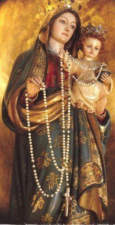 Pray the Rosary daily in honor of Our Lady. http://poboxgod.blogspot.com/2014/09/HolyRosary.html  #Catholic #Pray #Rosary