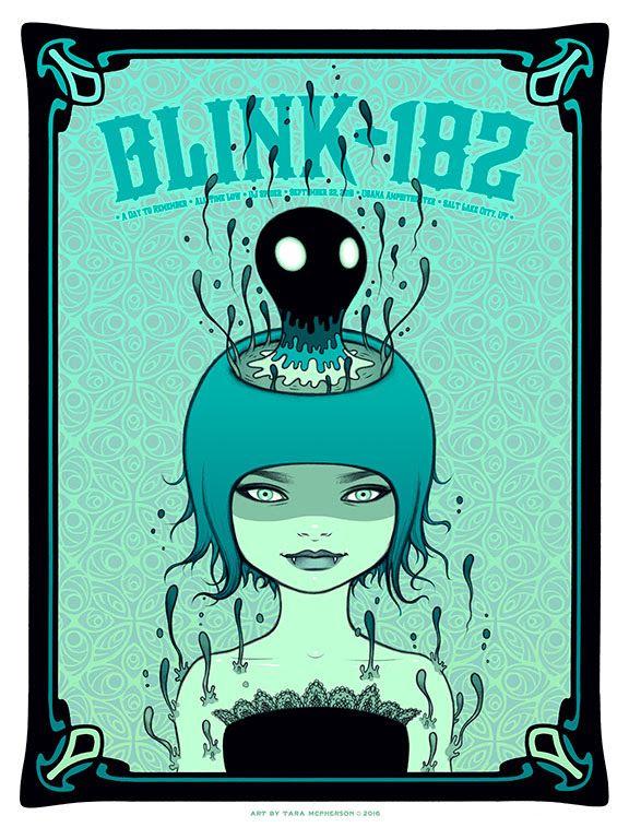 Blink-182 - Tara McPherson - 2016 ----