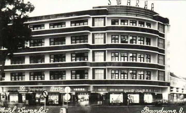 Hotel Swarha, Bandung 1957