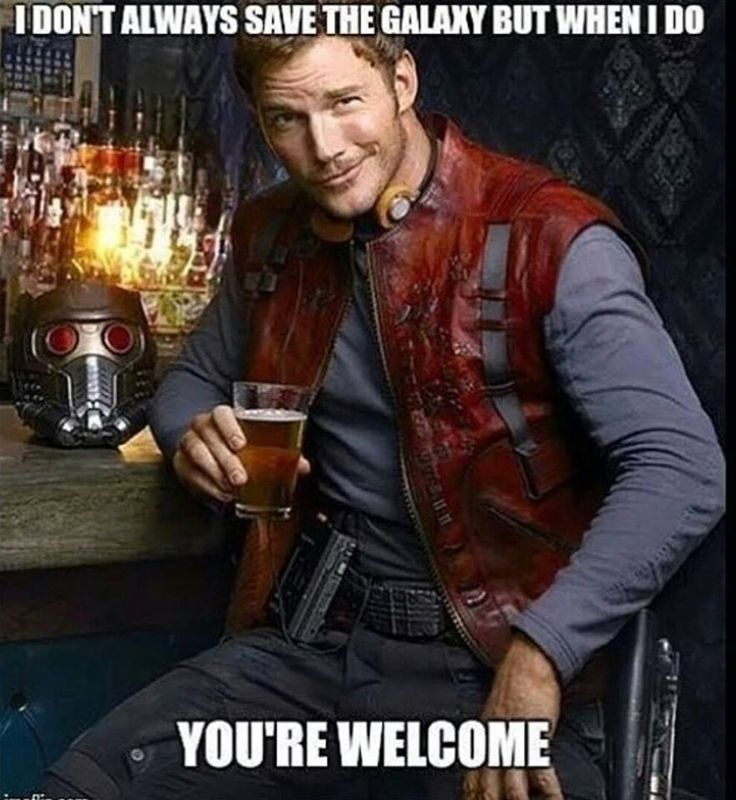 Star Lord meme - Chris Pratt