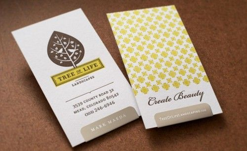 two-color, double-sided #letterpress business card with what looks like a sticker label, LOVE!