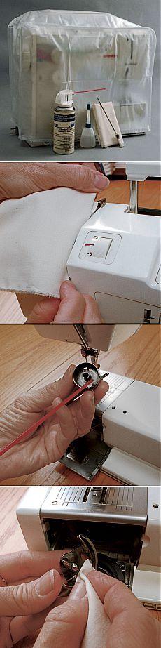 Профилактическая Швейные машинки Техническое обслуживание - Темы