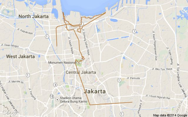 A DAY OFF ON A VERY BUSY WORK TRIP TO JAKARTA by Andrew for OdysseyAtlas