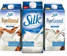 .Silk milks