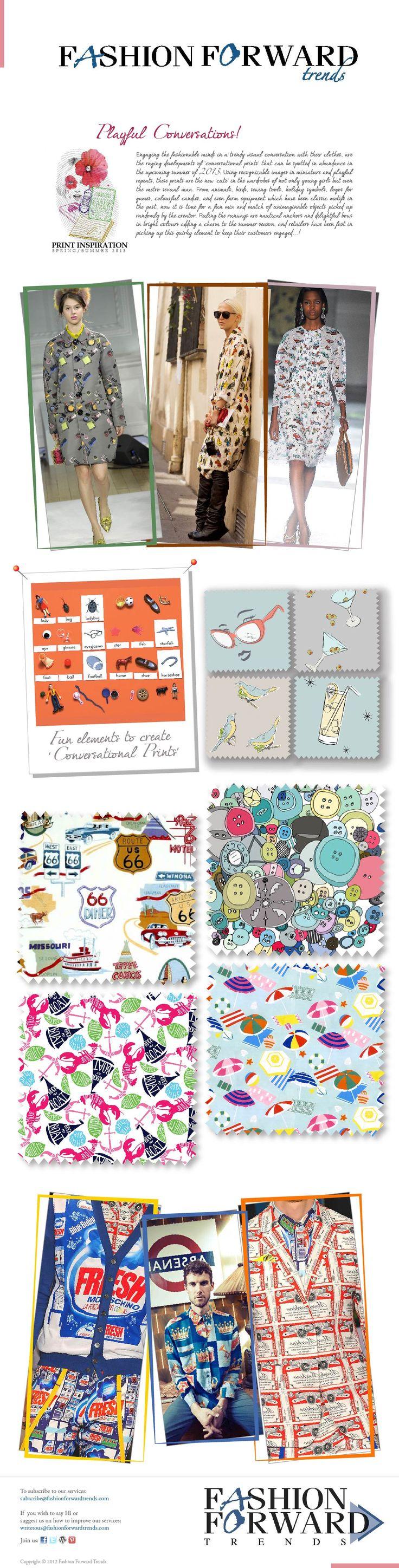 Print Inspirations- Playful Conversations