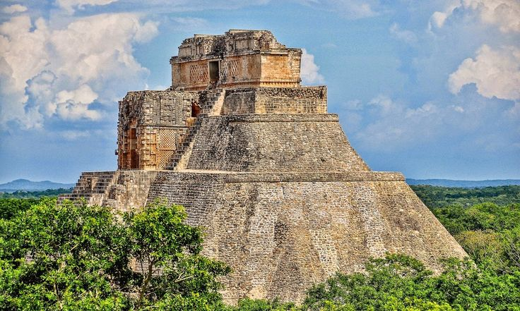 * Historical Architecture :  Pyramid of the Magician, Uxmal * Chichen Itza is probably the greater best archeological site in Mexico, but we found Uxmal to be far less commercialised, and therefore it felt more authentic. The former reminded me of Lourdes, where commercial enterprise seems more important than religious devotion. We did enjoy Chichen Itza, and its the history is fascinating, but if time were short, we would choose Uxmal before Chichen Itza any time.