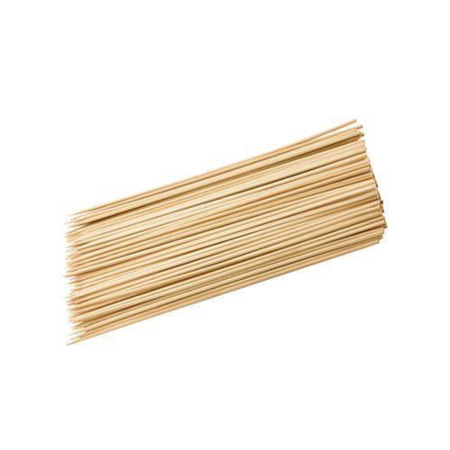 Grill Zone 43016 Bamboo Skewer Set, 100-Count by Grill Zone. $5.41. Ideal for preparing shish-kabobs, brochettes and appetizers. 100 count skewers. Soak in Water Before Grilling. Natural bamboo. The grill zone bamboo skewer set contains 100 natural bamboo skewers. They are ideal for preparing tasty shish-kabobs, brochettes and appetizers. The bamboo skewers should be soaked in water before assembling and grilling to avoid charring of the stick.