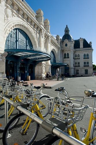 La gare de La Rochelle
