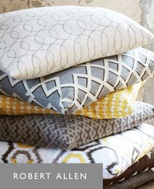 Robert Allen Fabric Upholstery, Drapery and Bedding fabrics