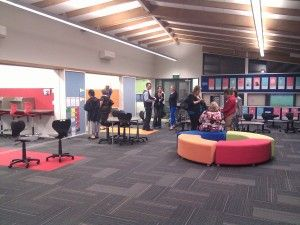 Modern Learning Environments: Three NZ Case Studies - lots of open and breakout spaces