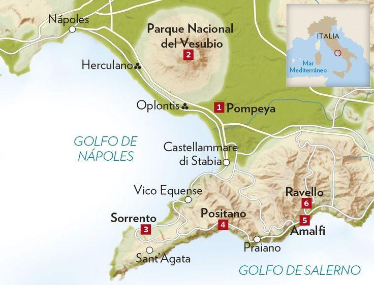 Pompeya y la Costa Amalfitana · National Geographic en español. · Rutas y escapadas