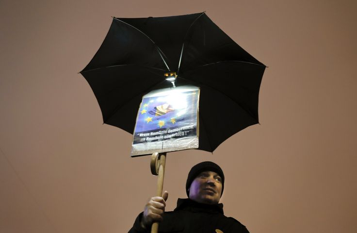 Romanian creativity is hallmark of huge anti-graft protests - The Washington Post