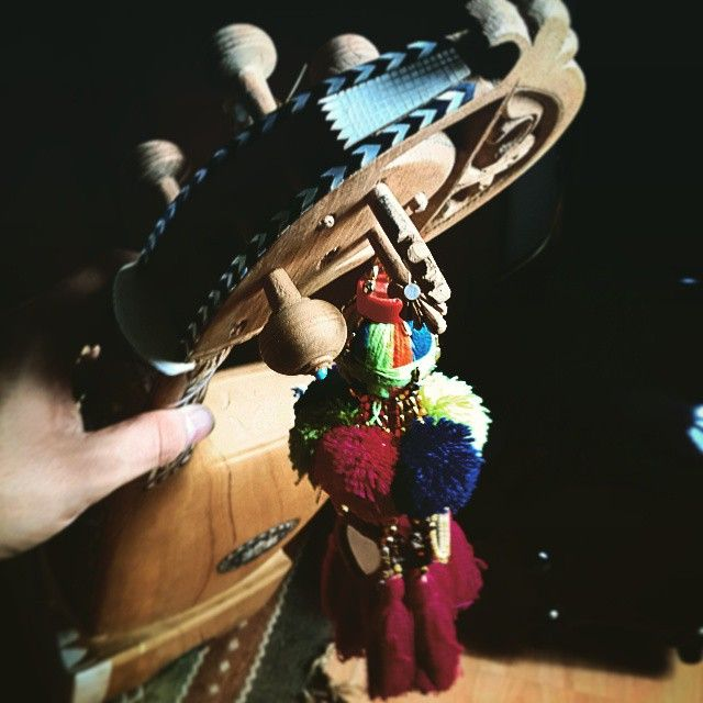Rubab made by my brother Asmat Rabab Maker and Zondy gift for my friend also in Pakistan Syed Arif Afridi !!! Thanks a lot Brothers