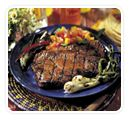 Grilled Honey-Soy Pork Steaks Recipe