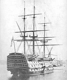 HMS Victory -- Example of a British Ship of the era. The Battle of New Orleans December 1814 - January 8, 1815