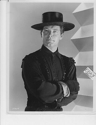 Stephen Boyd sexy cowboy in black VINTAGE Photo