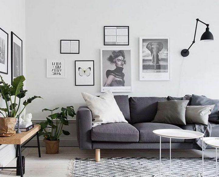 Skandinavisches Wohnzimmer Ideen #inneneinrichtung #dekoration #wohnzimmerideen … #Wohnzimmerideen