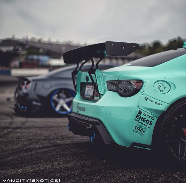 Scion FRS | R35 GTR...