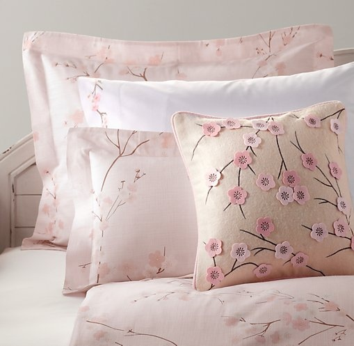 European Cherry Blossom Crib Bedding
