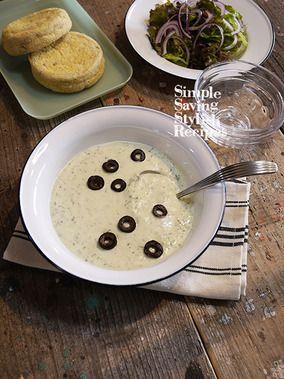 包丁要らず!2ステップの朝ごはん!ザジキ風ヨーグルトギリシャスープ|レシピブログ