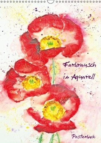 Farbrausch in Aquarell (PosterbuchDIN A4 hoch) von Andrea Fettweis, http://www.amazon.de/dp/3660043419/ref=cm_sw_r_pi_dp_.E7hrb121PFY7