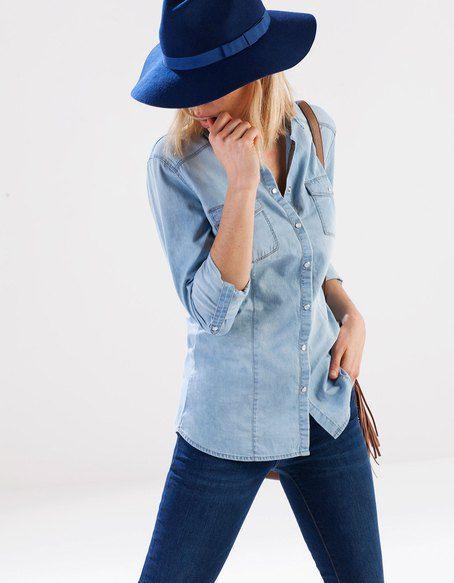 Dżinsowa koszula | FASHIONLOVERS