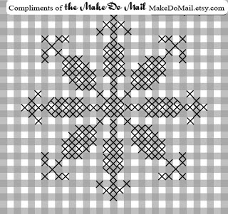 Free Chicken Scratch Quilt Pattern | This pattern is for your own personal use only.